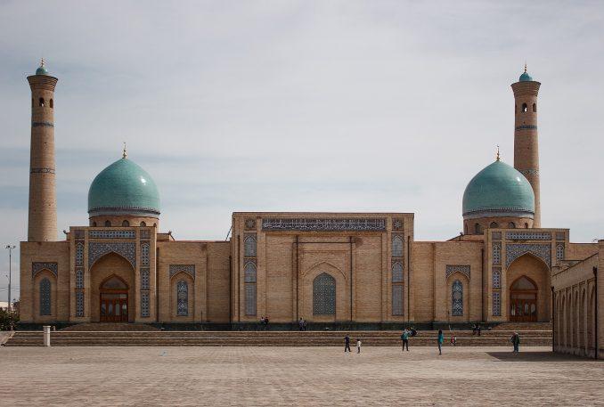 La capitale de l'Ouzbékistan, Tachkent