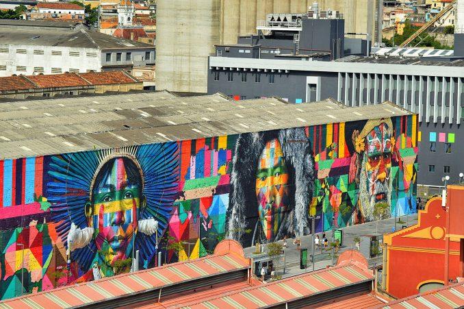 La ville de Bahia au Brésil