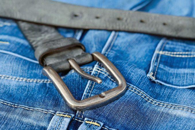 Gros plan sur les jeans