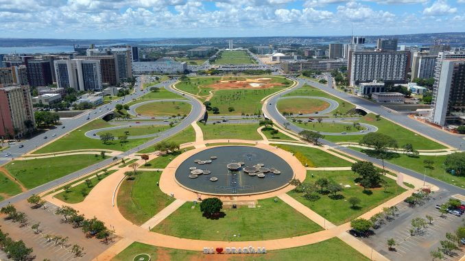 Aperçu de Brasilia, capitale du Brésil