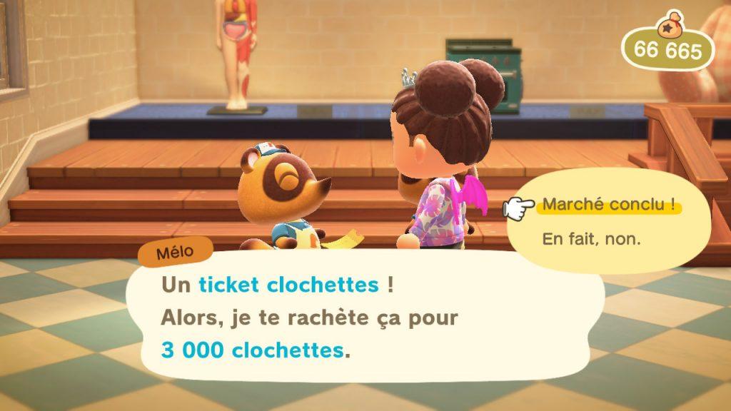 Méli ou Mélo rachètent 3000 clochettes un ticket clochettes