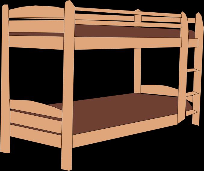 Exemple de plan de lits superposés en bois