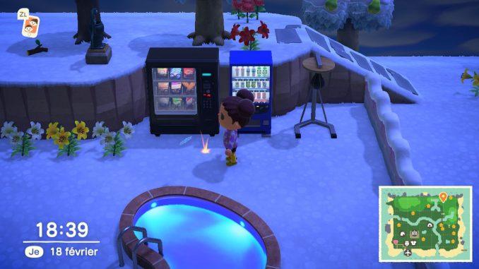 Le trou où vous pourrez planter un arbre à clochettes dans Animal Crossing New Horizons